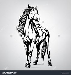 stock-vector-silhouette-of-a-horse-278034353.jpg (1500×1600)