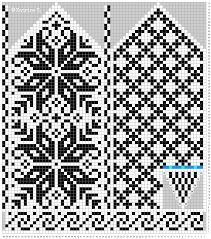 Bilderesultat for strikke diagram Knitted Mittens Pattern, Knit Mittens, Knitted Gloves, Knitting Socks, Hand Knitting, Knitting Charts, Knitting Stitches, Knitting Patterns Free, Wedding Cross Stitch Patterns