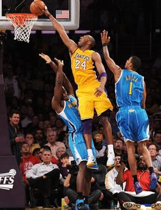 New Orleans Hornets v Los Angeles Lakers - Game Two, Los Angeles, CA - April Kobe Bryant, Emeka Photographic Print Kobe Bryant Family, Kobe Bryant 8, Lakers Kobe Bryant, Dodgers, Lakers Game, Sports Basketball, Basketball Players, Basketball Drills, Basketball Legends