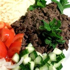 Easy Lamb Shawarma Recipe - used ground lamb and made little meatballs marinated in the sauce, yum! Lebanese Cuisine, Lebanese Recipes, Lamb Shawarma Recipe, My Favorite Food, Favorite Recipes, Kebab, Ground Lamb, Hummus Recipe, Middle Eastern Recipes