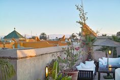 Discover Ryad Dyor, considered to be a top boutique riad in Marrakech. Ryad Dyor is a magical gem of tranquility amidst the hustle and bustle of the city. Riad Marrakech, Rooftop, Boutique, City, Rooftops, Cities, Boutiques