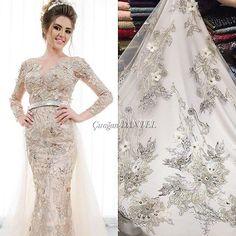 @ciragandantel ❤️ Farklı renkler mevcuttur. Have different colours.  #lace #fabric #dantel #kumaş #eveningdress #nişan #davet #düğün #kına #tesettürabiye #abiye #trend #fashion #moda #HauteCouture #özeldikim #zuhairmurad #eliesaab #tkani #yeni #new #istanbul #ciragandantel #instafashion #tesettür #detail #dress #elbise #mezon #exclusive