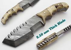 Mini tracker knife
