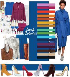 Color palette for clothes. Colour Combinations Fashion, Color Combinations For Clothes, Fashion Colours, Colorful Fashion, Color Combos, Color Type, Deep Winter Colors, Modelos Fashion, Fashion Vocabulary