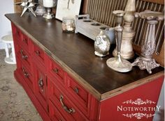 Paint it red | How to upcycle your furniture | Modish Living