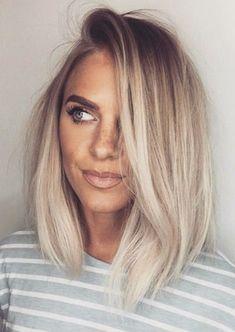 Ash blonde melt