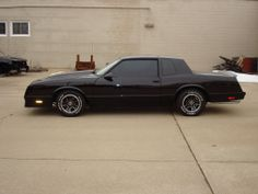 1988 Monte Carlo SS. I really want these rally rims on my SS.