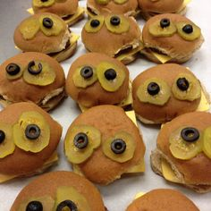 Monster burgers for Halloween at MWE