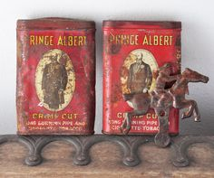 Antique horse and rider shooting gallery target