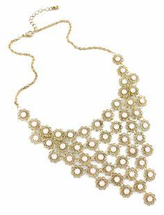 Gargantilla flores con beads EUR6.47