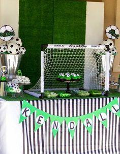 Festa Tema Futebol: já que é ano de copa trouxemos diversas inspirações para decoração de aniversário. Ainda mais procurado nesse ano de Copa do Mundo. Confira!