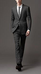 I love this Burberry suit... of course it wouldn't look as good on me as it does the tall, skinny model.