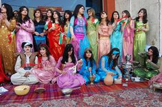 NewRoz kurdistan kurdish girls by KecaEzidiKurd