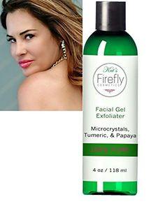 Kats Firefly Cosmetics Gel Exfoliant Scrub Turmeric