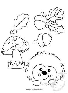 House of handicrafts. Handicraft, design and D Autumn Crafts, Fall Crafts For Kids, Autumn Art, Thanksgiving Crafts, Art For Kids, Felt Crafts, Diy And Crafts, Arts And Crafts, Paper Crafts