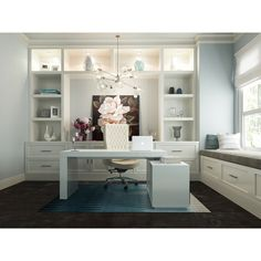 Soul Modern Contemporary Office Desk w/ Attached Cabinet – home office ideas for two Mesa Home Office, Home Office Computer Desk, Home Office Space, Home Office Furniture, Furniture Ideas, Furniture Online, Contemporary Office Desk, Modern Office Desk, Modern Contemporary