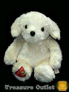 Dakin Stuffed Plush Beanie Labrador Lab Retriever Puppy Dog 9in