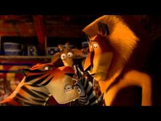 Madagascar 3 - The crew joins the circus! #animation #movie