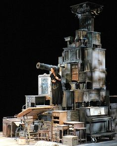 Heartbreak House. Two River Theatre Company. 2008. TONY CISEK scenic design.