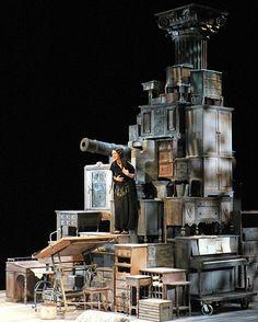 Heartbreak House. Two River Theatre Company. 2008. TONY CISEK scenic design.