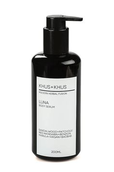 KHUS+KHUS encourages the use of its body serums in the Ayurvedic practice of self-massage called abhyanga. But even if you've never tried this daily ritual, you'll benefit from the brand's balancing serum — a therapeutic blend of patchouli (which some believe can help alleviate stress-related conditions), moisturizing sandalwood (known for its astringent-like balancing qualities), and more.