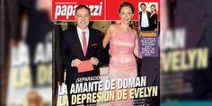 """La polémica tapa de Paparazzi: """"La amante de Doman, la depresión de Evelyn"""" http://www.ratingcero.com/c104188"""