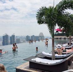 여행내내 좋은날씨 _ #싱가폴 #singapore #마리나베이샌즈 #marinabaysands #instagood #daily #여행 #selfie #설정샷 #여름휴가