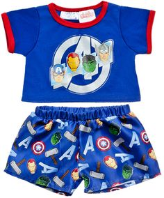 Avengers PJs 2 pc. | Build-A-Bear Workshop