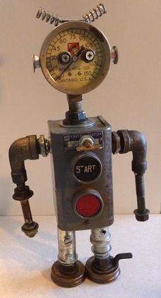 Rusty by JoySun Robots Joyce Gladden