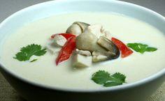 Thai Coconut Chicken Soup!!