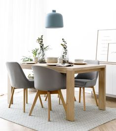 Nord extensible oak dining table - Kenay Home- Nord mesa de comedor extensible roble – Kenay Home Nord extendable table - Simple Dining Table, Diy Dining Room Table, White Dining Chairs, Dining Room Design, Interior Design Living Room, Minimalist Dining Room, Bedroom Decor For Couples, Home Decor Mirrors, Piece A Vivre