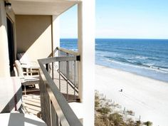 North Myrtle Beach Vacation Al Sea Marsh Ii Unit 803 Oceanfront Balcony View Cherry Grove Top