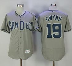 Padres  19 Tony Gwynn Grey Flexbase Authentic Collection Stitched MLB Jersey.  wholesale jerseys · Baseball San Diego ... 5594958ee