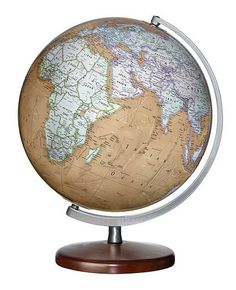 91 best desktop world globes images on pinterest world globes map replogle discovery berks desktop world globe with walnut finish wood base silver toned meridian and 12 inch diameter plastic antique ocean ball gumiabroncs Images