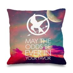 Hunger games Quote Pillowcases Pillow Cases This pillow cover made from high quality drapery weight 50% cotton fabric and 50% Polyester with hidden zipper closure. All seams are surged to prevent fray