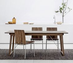 danish elm dining table with angular legs tables pinterest tables extendable dining table and room