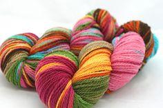 Yummy yarn at Knit Night!