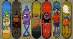 #18 ed templeton skateboard decks art graphics