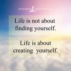 Today I will realize that my #recovery is a journey of creation. #LighthouseTreatment #LifeIsCreation #AddictionTreatment