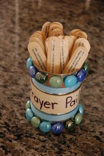Prayer Pail (with 25 printable mealtime prayers)