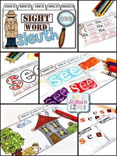 Simply Skilled in Second: Sight Word Sleuths and a FREEBIE!
