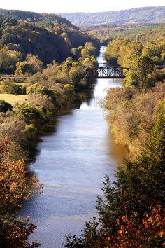 Tye River Overlook | James River State Park, Virginia.