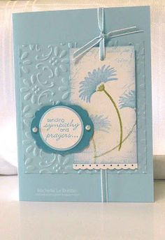 Stampin' Up!  Clean and Simple Don't like all the cheap looking 'pearly' elements they use on their cards, cute though.