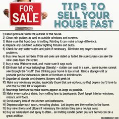 Tips to sell your house fast. Call Michael Rofail, Broker/Realtor, Pacific Realty Investments.  www.pacrealtyinvest.com