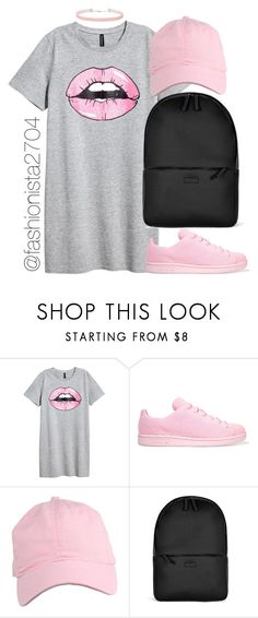 """Untitled #894"" by fashionista2704 ❤ liked on Polyvore featuring adidas Originals, Rains and Miss Selfridge"