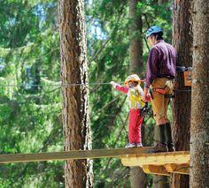 Un' esperienza adatta a tutte le famiglie, per piccoli e grandi esploratori