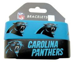 NFL Carolina Panthers Silicone Rubber Bracelet Set, 2-Pack by aminco. Save 81 Off!. $3.02. Show off your team spirit at the game or around town with Aminco's silicone rubber bracelets. Each pack comes with two different bracelets, to keep for yourself or share with a friend.