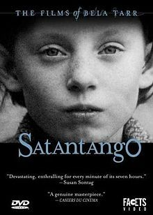 Sátántangó (1994) Béla Tarr's absolutely epic 7 hour film about a collective farm in Hungary during the end of Communist rule. Must see.