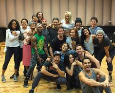 The cast of Grease Live.