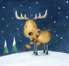 Ileana Oakley - Ileana Oakley Christmas Reindeer